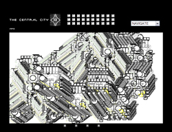 The  Central City by Stanza. The Famous netart project